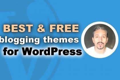 10+ Best Free Blogging WordPress Themes of 2017
