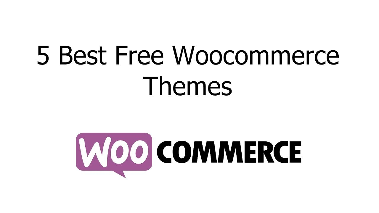 5 best free responsive woocommerce wordpress themes