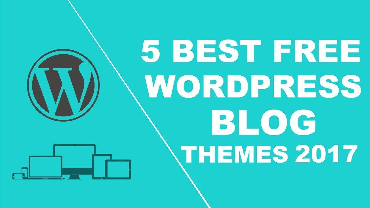 wordpress düren - 5 best free responsive wordpress blog themes 2017