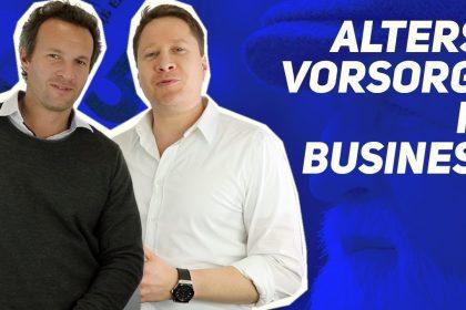 Altersvorsorge im Business!