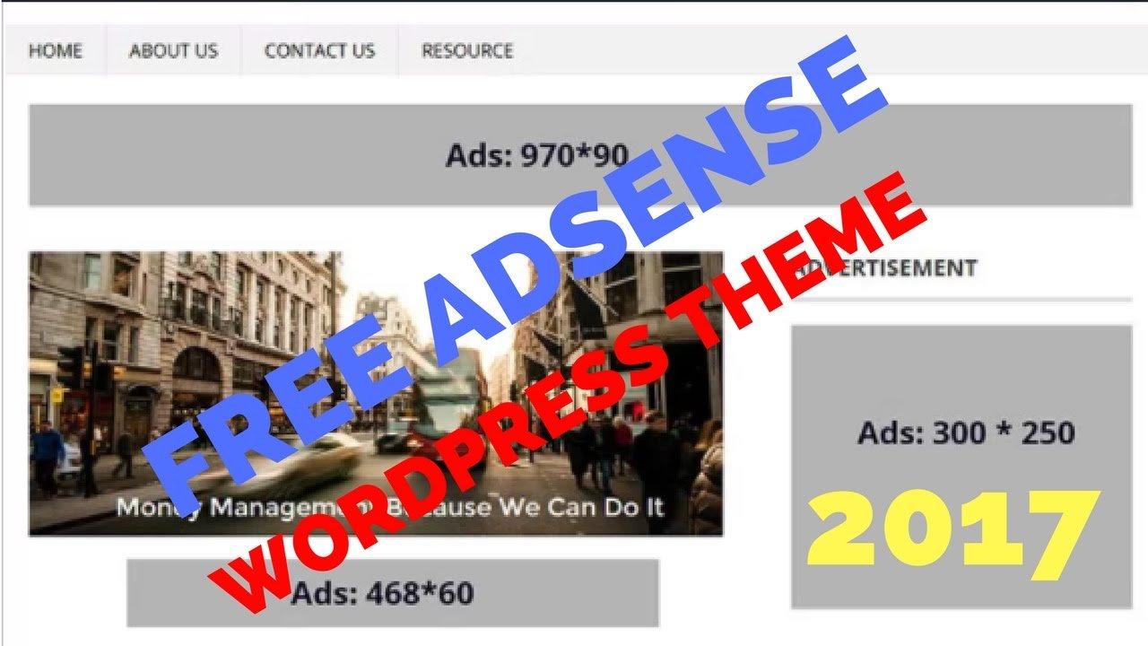 Best Adsense Responsive Wordpress Theme May 2017   Unlimited Adsense Earnings of 200%