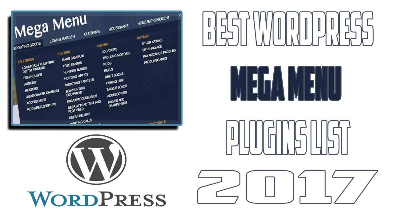 Best WordPress Mega Menu Plugins 2017 #Top 10