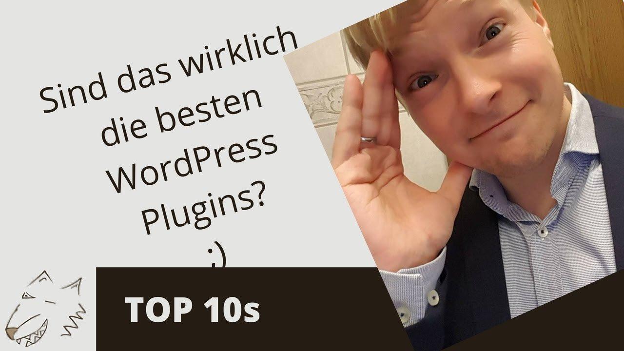 Beste WordPress Plugins 2017 - erfolgswolf®