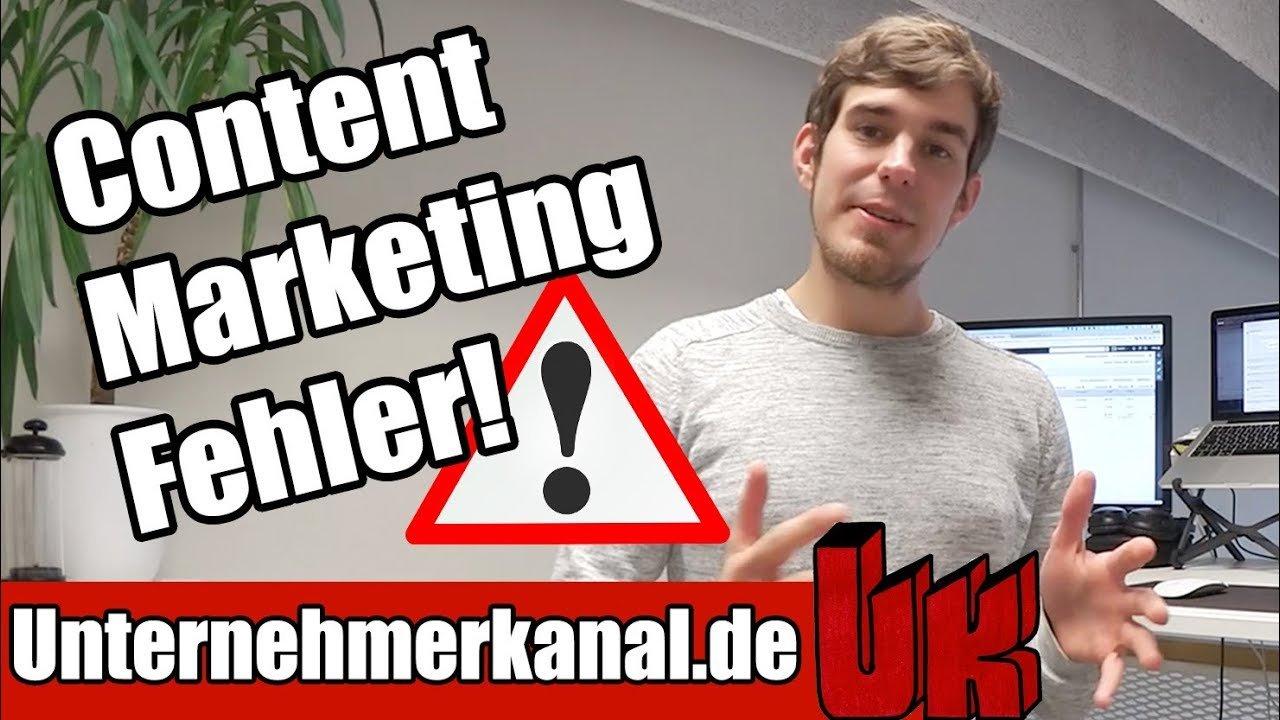 Der größte FEHLER im Content Marketing?
