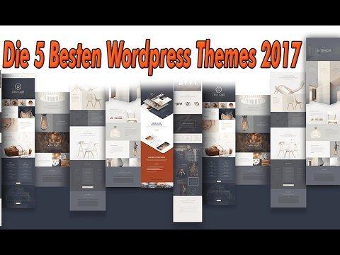 Webdesigner Düren - Die 5 Besten Wordpress Themes 2017