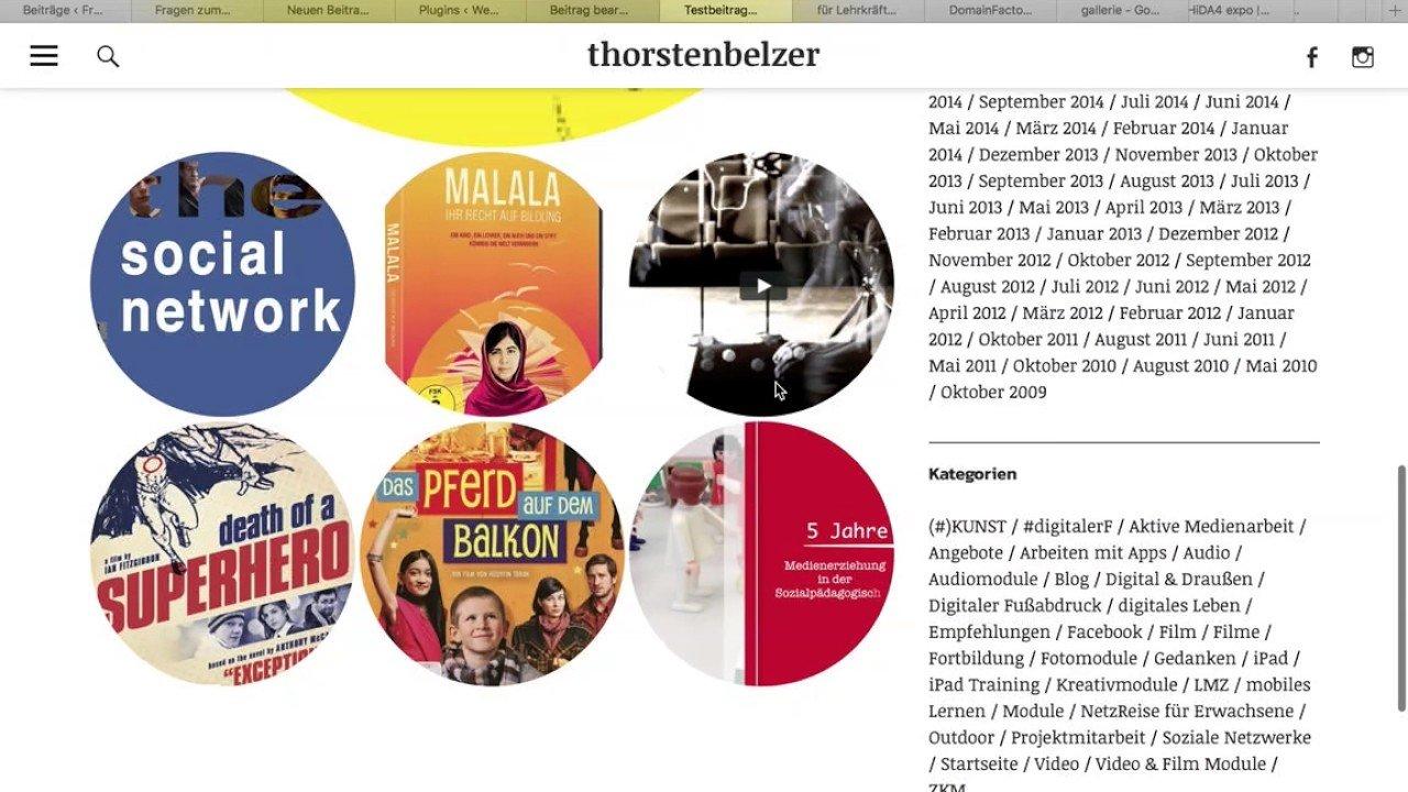 Galerien in Wordpress erstellen - mit Jetpack Plugin