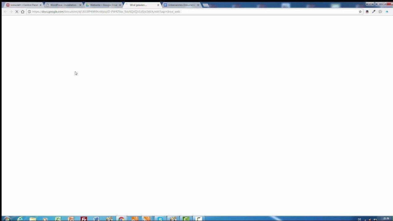 Hetzner Wordpress installieren Teil2