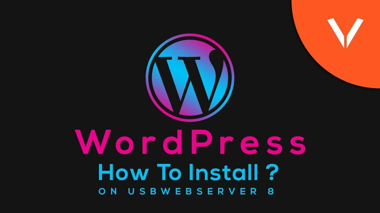 How To Install Wordpress Locally On USBWebserver