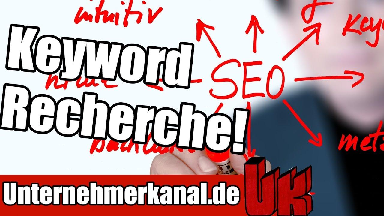Keyword Recherche Tutorial - Die Grundlage des Online-Marketings (+ SEO Optimierung)