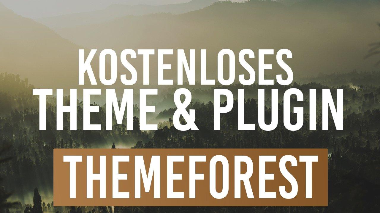 Kostenloses WordPress Theme & Plugin von Themeforest Feb 2017