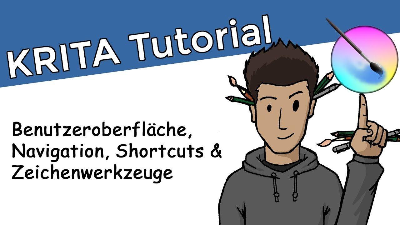 Krita Tutorial 1 - Einführung & erste Schritte | Kostenlose Software für Zeichner