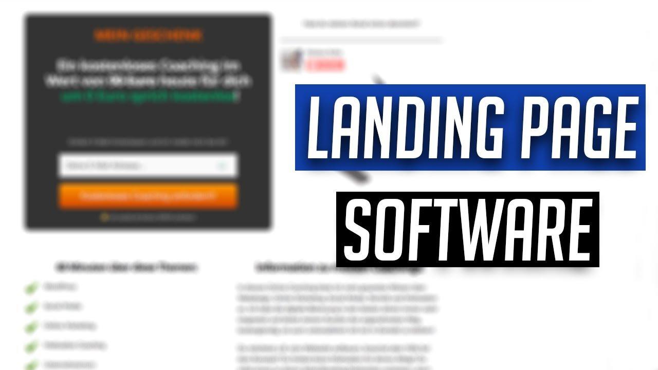 Landing Page mit WordPress: Welche Software gibt es? Erklärung
