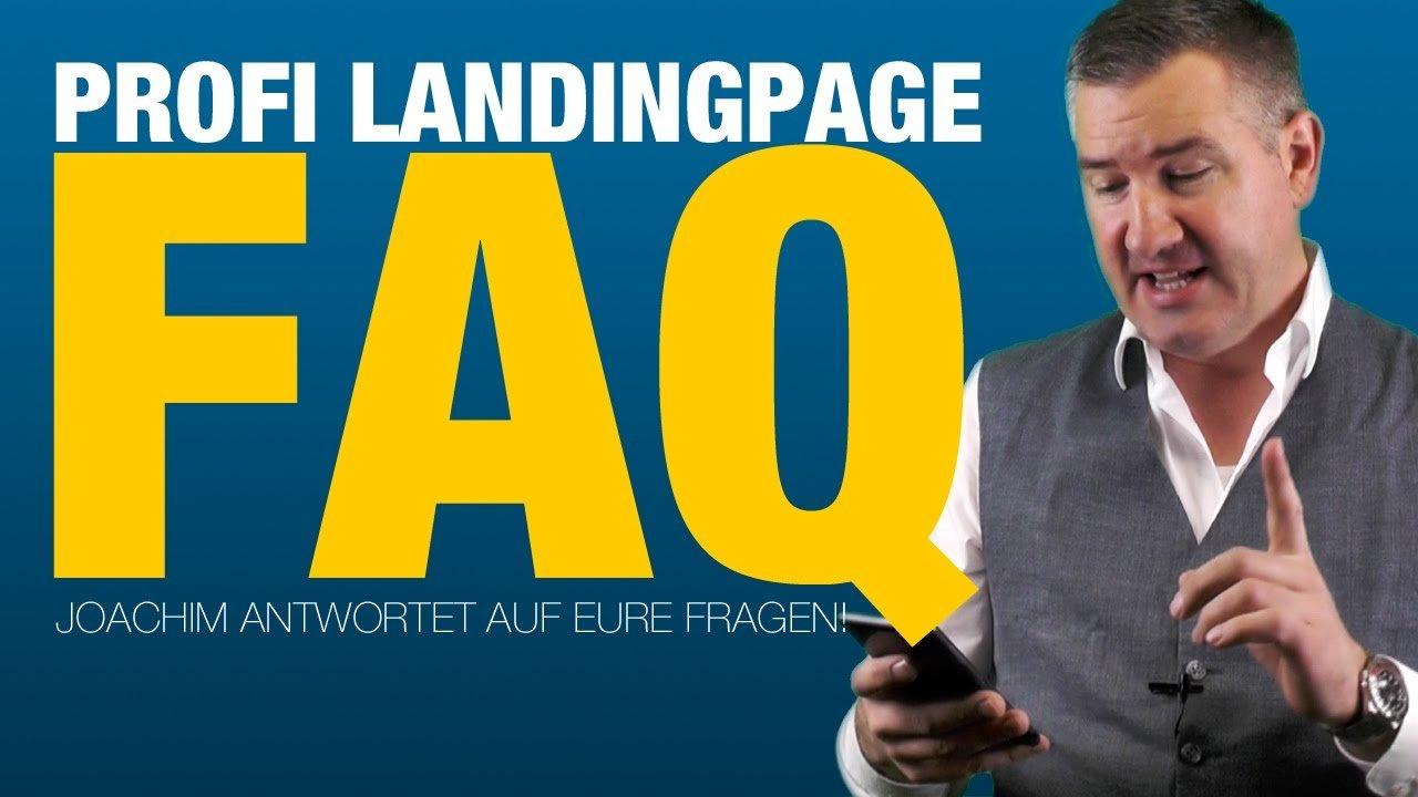 Landingpage mit WordPress erstellen - Die meist gestellten Fragen!