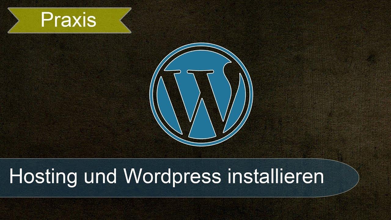 Live: Domain registrieren, Hosting, Wordpress installieren und Theme einrichten