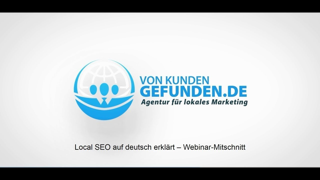 Local SEO deutsch – Webinar