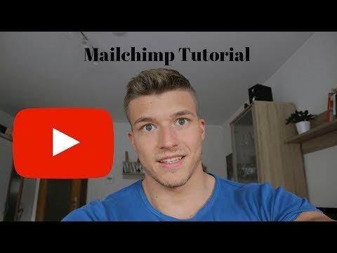 Mailchimp Tutorial DEUTSCH Teil 1: Newsletter erstellen und versenden