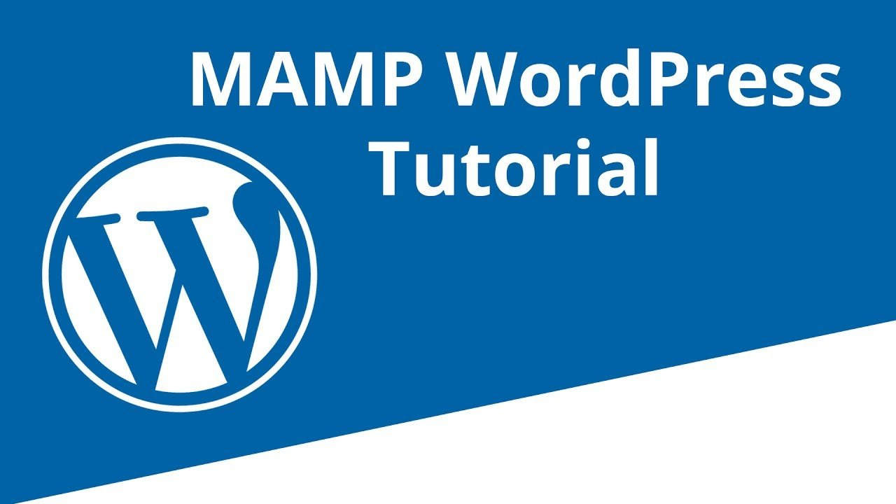 MAMP WordPress Installation Deutsch Mac