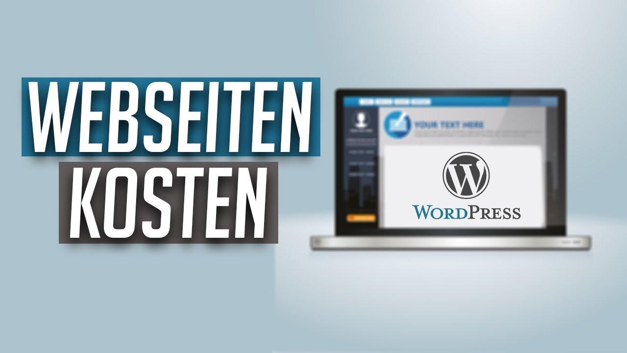 Monatliche/jährliche Kosten für eine WordPress Webseite (Domain, Hosting etc..)