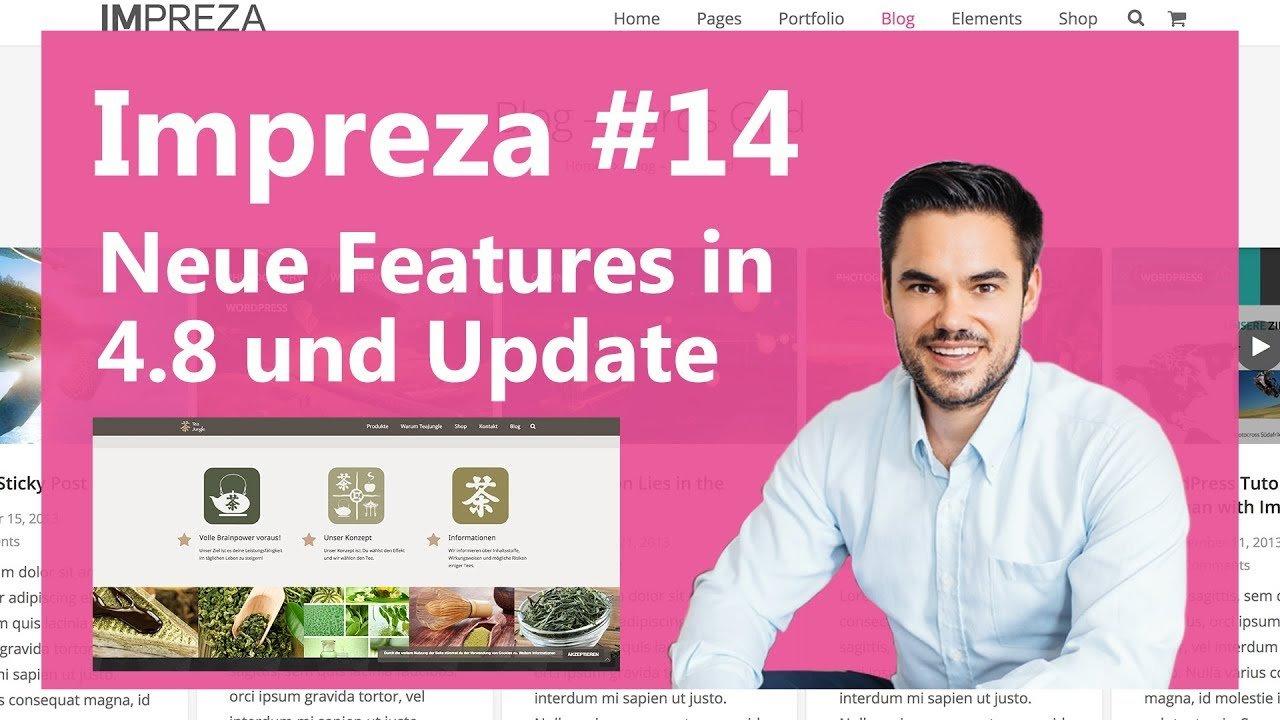 Neue Features in Impreza 4.8 und Update [deutsch/german] / Impreza #14