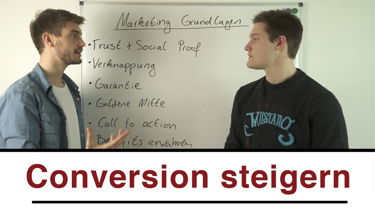 Online Marketing Grundlagen - So steigerst du deine Conversion