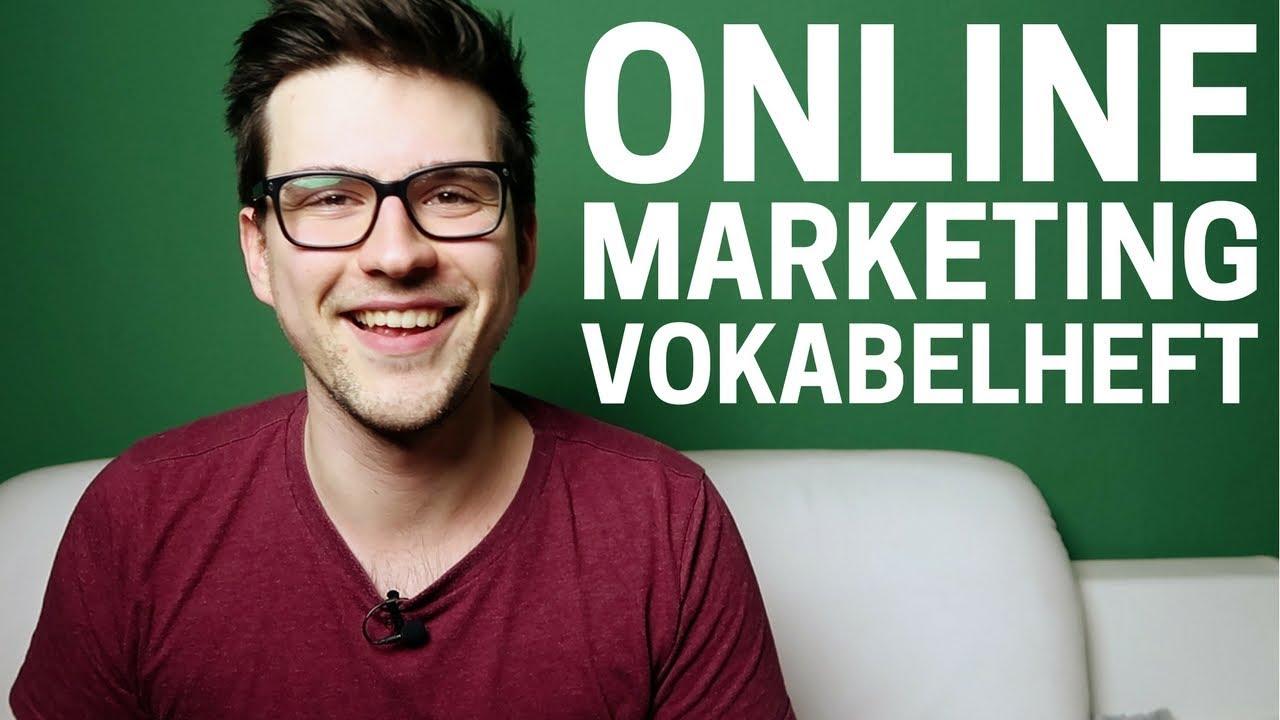Online Marketing Vokabelheft (Beste & Einfachste Erklärung Aller Begriffe)