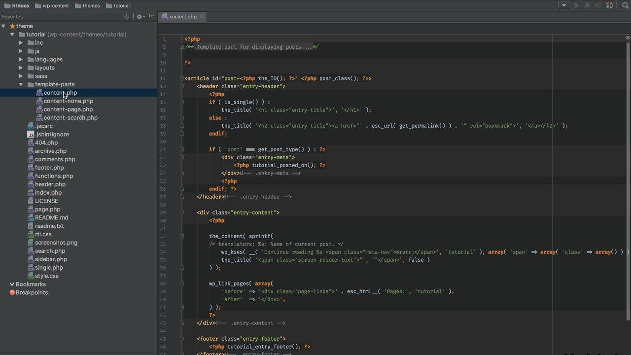 PHPStorm: WordPress-Projekt anlegen