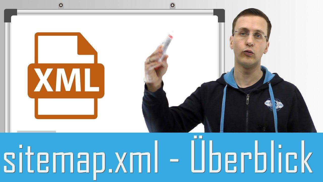 SEO Grundlagen: sitemap.xml - Technische SEO für Einsteiger erklärt