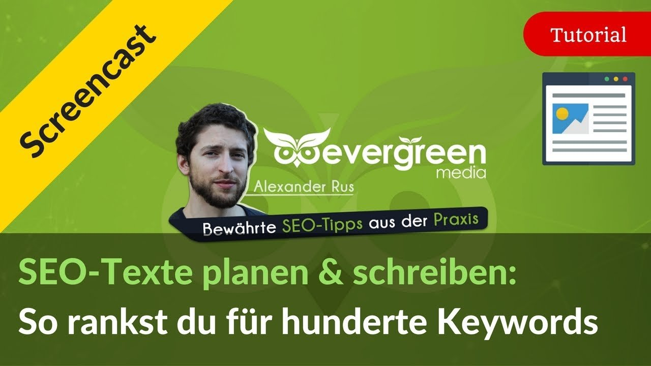 SEO-Texte schreiben: Anleitung, wie du für hunderte Keywords rankst