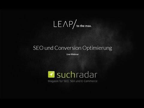 suchradar-Webinar: SEO und Conversion Optimierung – So holen Sie mehr aus Ihrem Online Shop heraus!