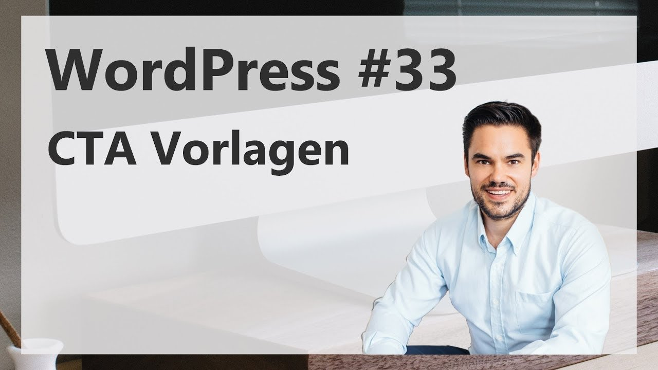 Vorlagen im WordPress für Button-Codes - CTA Vorlage / WordPress #33