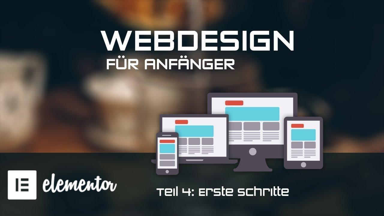 Webdesign für Anfänger mit Elementor - Erste Schritte - [TUTORIAL]