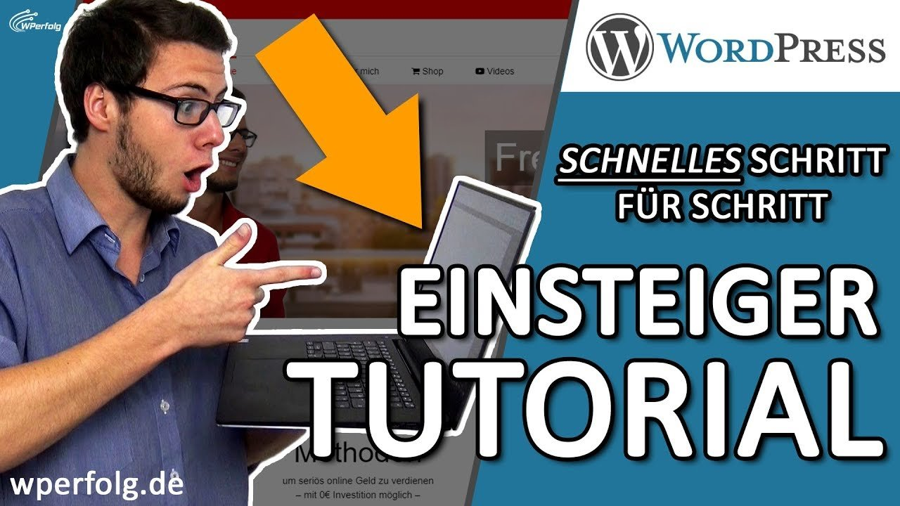 Wie Du eine WordPress WEBSITE ERSTELLEN kannst | WordPress Tutorial [German / Deutsch] 2018