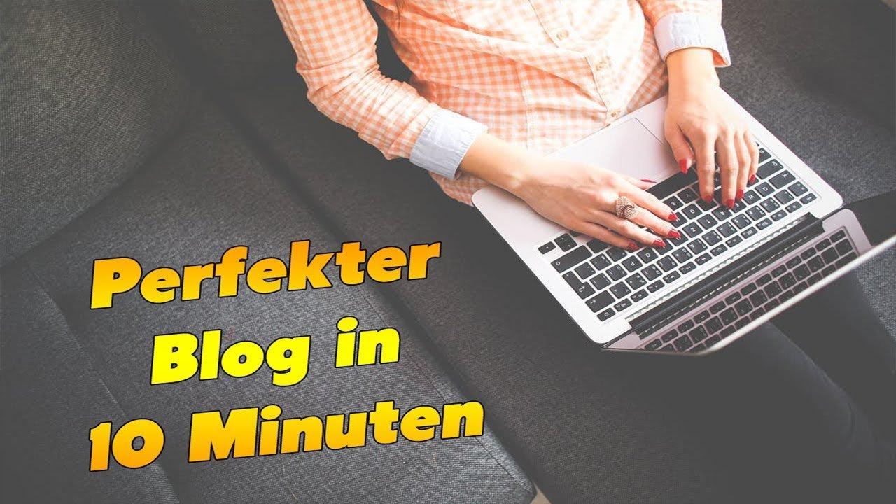 Wordpress Blog erstellen 2017 -  in 10 Minuten