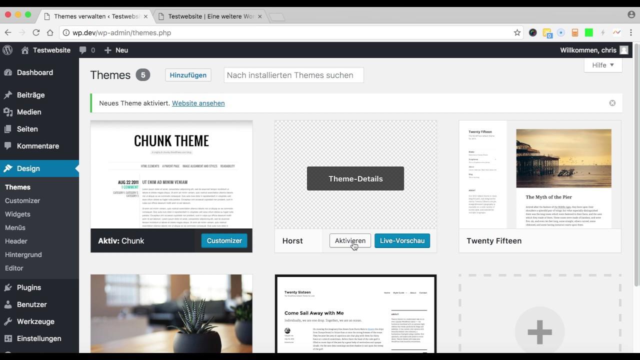 Wordpress Child Theme in nur 5 Minuten erstellen