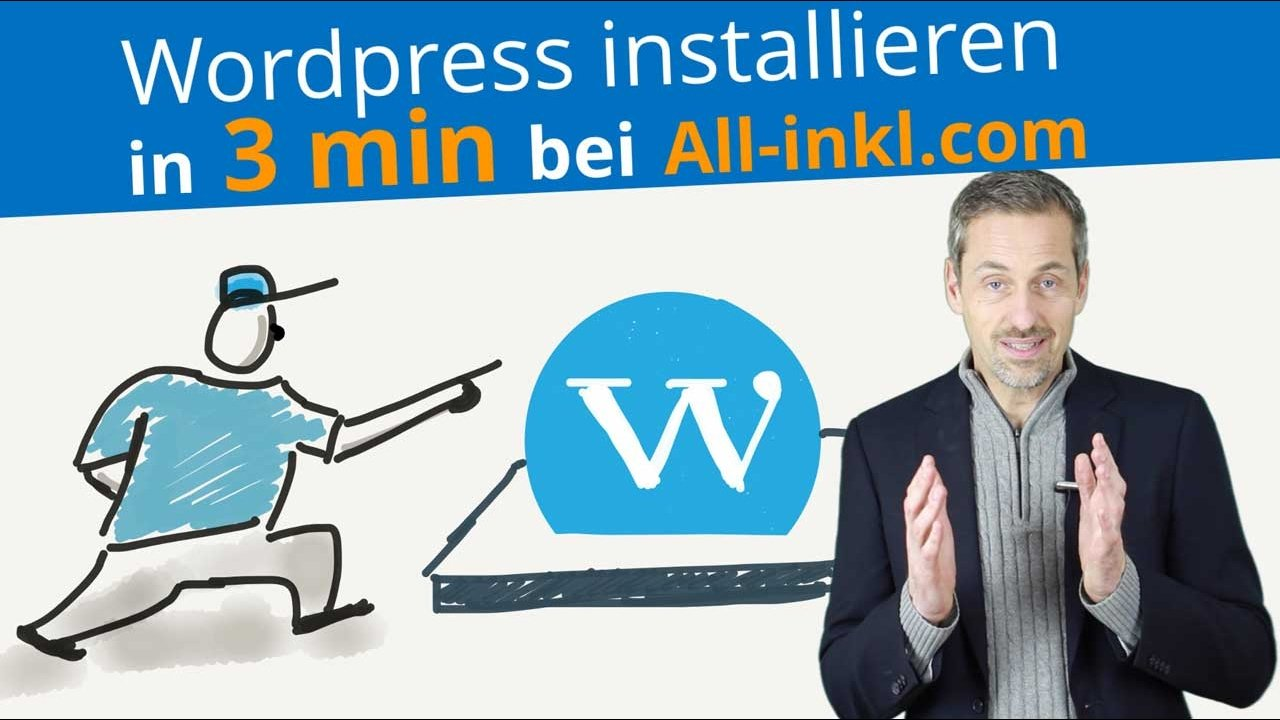 Wordpress neu installieren in 3min bei All-Inkl.com 2018