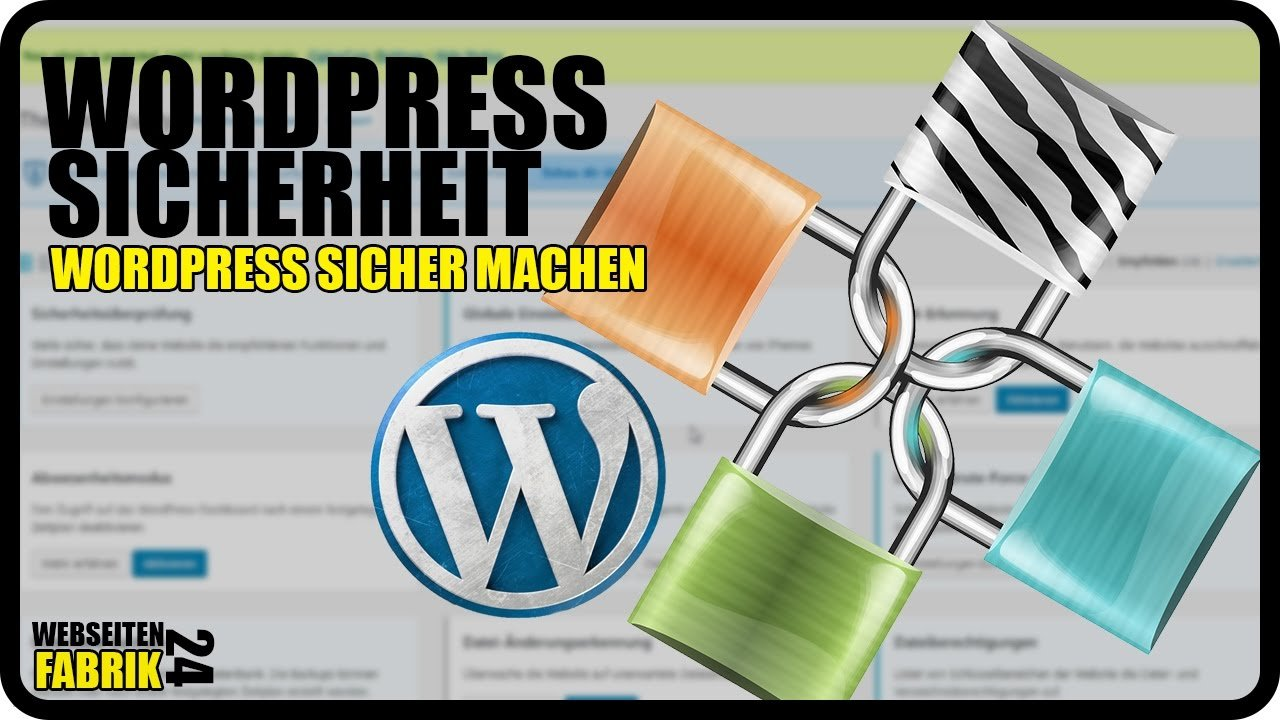 Wordpress Sicherheit Plugin - Tutorial Deutsch/German WP Anleitung - Wordpress sicher machen