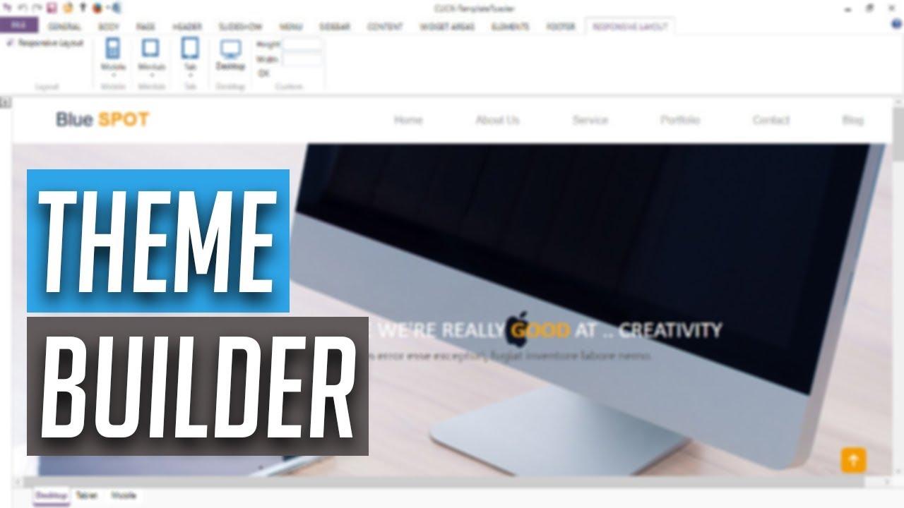 WordPress Theme selber erstellen mit TemplateToaster - WordPress Theme builder