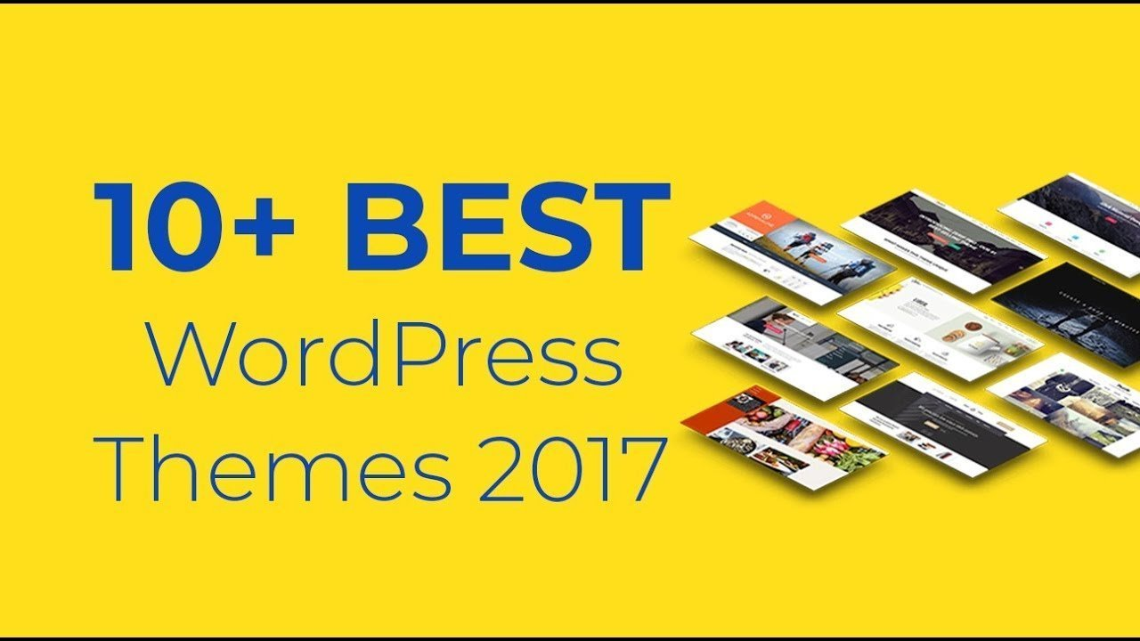 WordPress Themes 2017: 10+ Best Themes Of The Year