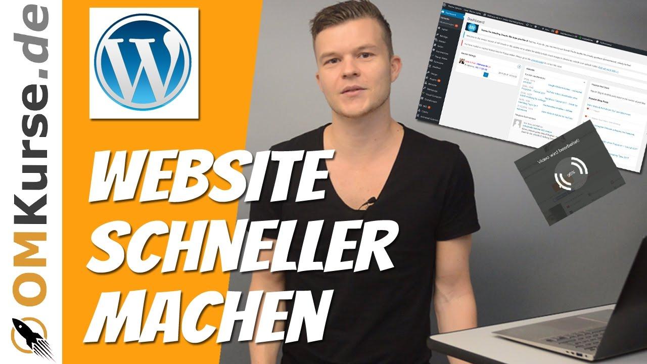 Wordpress Website schneller machen - Top 5 Plugins (04/2017)