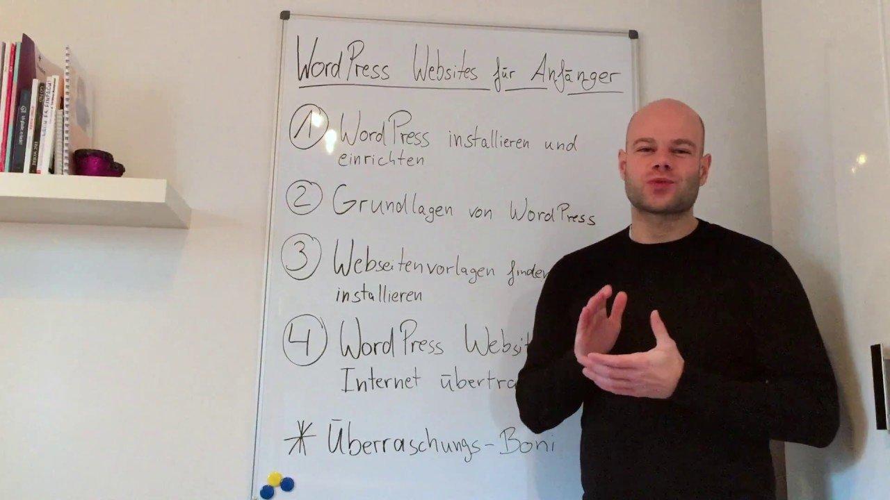 WordPress Websites für Anfänger Kurs