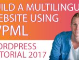 WPML Multilingual Plugin For Wordpress | Tutorial 2017