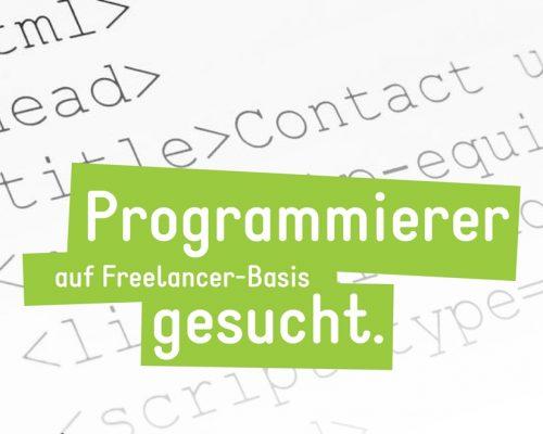 Freelance Programmierer Aachen gesucht