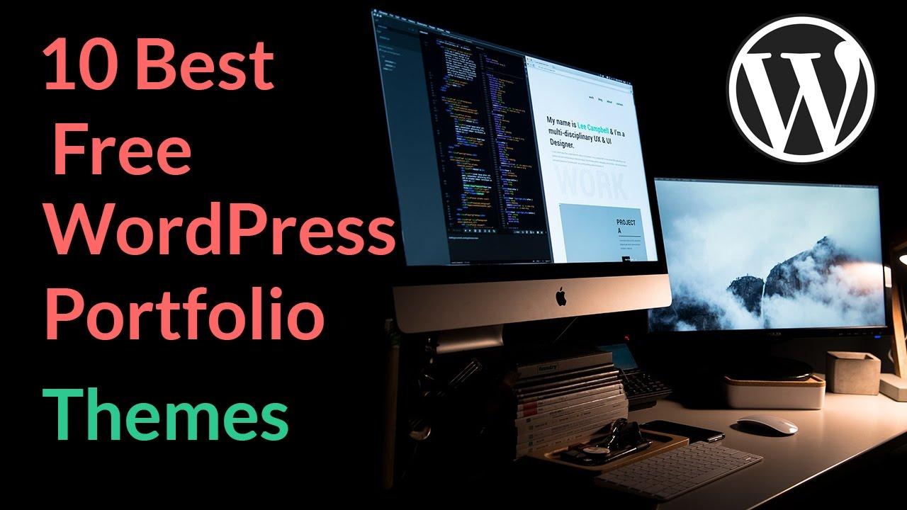 Best Free Wordpress Portfolio Themes 2017