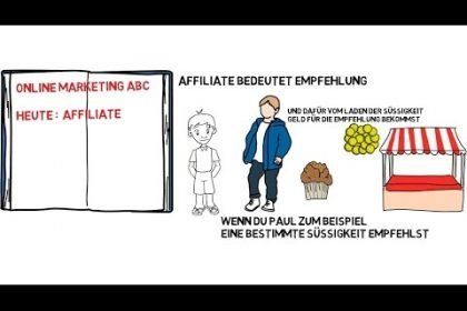 Erklärvideo  Online Marketing ABC : Affiliate