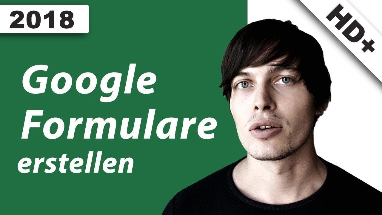 Google Formulare erstellen / Kontaktformular erstellen