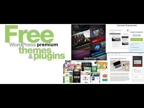 How To Get Free WordPress Premium Themes And Plugins