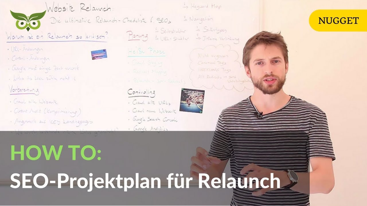 SEO-Projektplan für den Website Relaunch: Die ultimative Checkliste