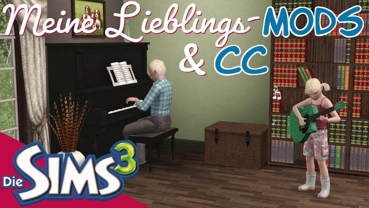 SIMS 3 Downloads Vorstellung - Lieblings-Mods und CC [Die Sims 3 | Deutsch]