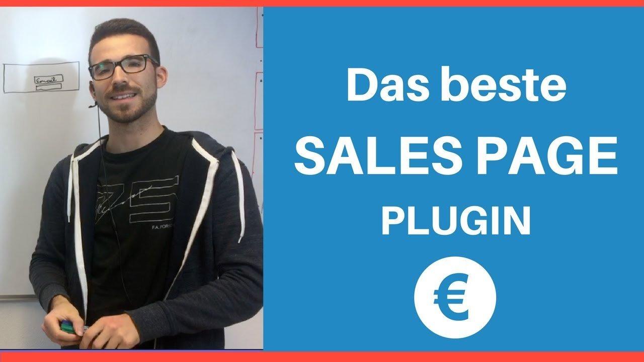 Superschnell Verkaufsseiten erstellen - WordPress Sales Page Plugin