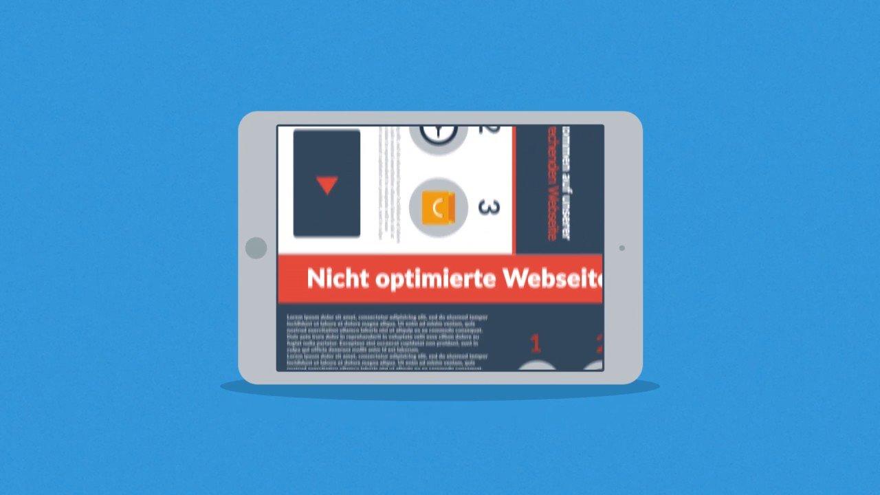 Webseite mobil optimieren lassen